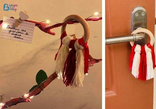 DIY Raksha Bandhan gifts decor accessory