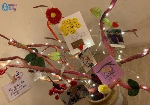 DIY Raksha Bandhan gifts twig craft