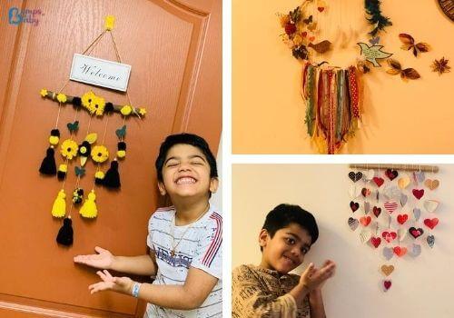 DIY Raksha Bandhan gifts wall hangings