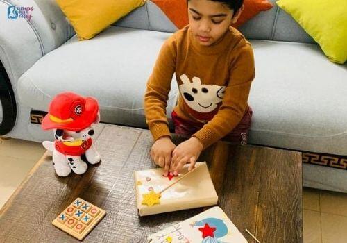 Lockdown activities for kid gift wrap