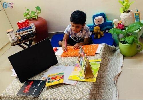 Lockdown activities for kids co-workspace