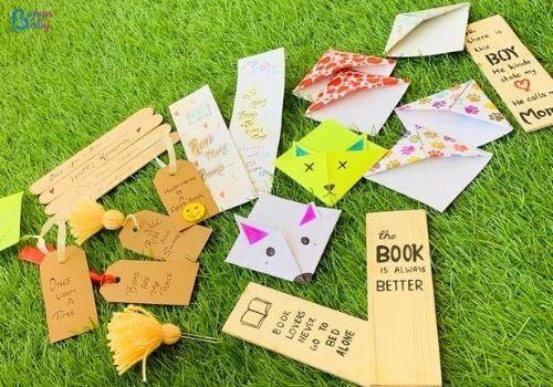 Lockdown activities for kids diy bookmark