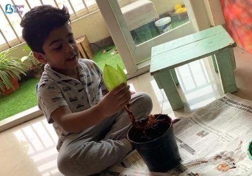 Lockdown activities for kids gardening