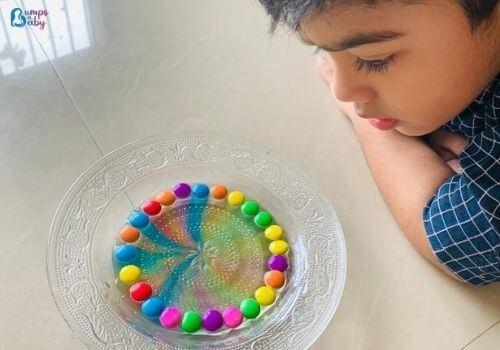 Lockdown activities for kids gems activity