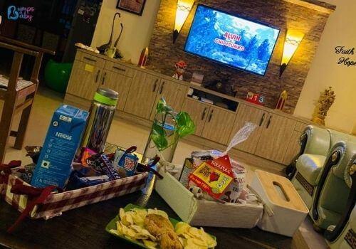 Lockdown activities for kids movie night