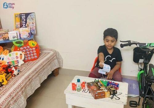 Lockdown activities for kids pretend play