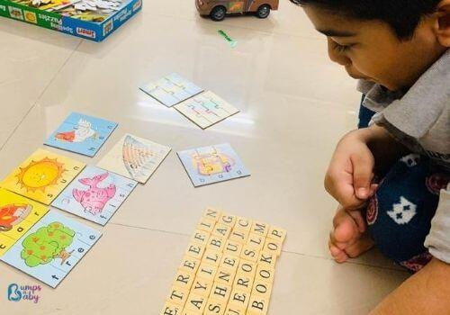 Lockdown activities for kids word hunt