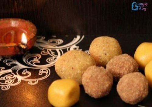 Ganesh Chaturthi Lunch menu laddu