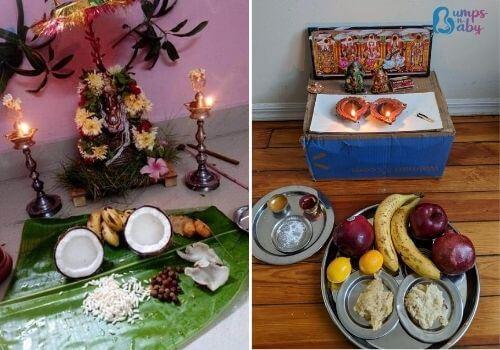 Ganesh Chaturthi Lunch menu pooja