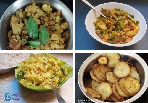 Ganesh Chaturthi Lunch menu poriyal