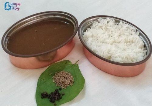 Ganesh Chaturthi Lunch menu rasam