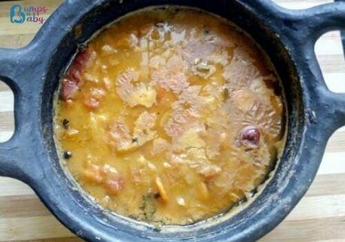 Ganesh Chaturthi Lunch menu sambar