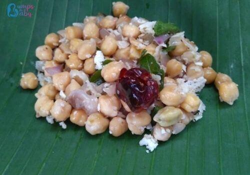 Ganesh Chaturthi Lunch menu sundal