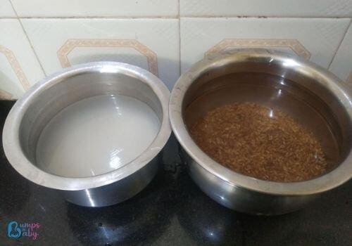 bamboo rice kozhukattai recipe soak idli rice and bamboo rice