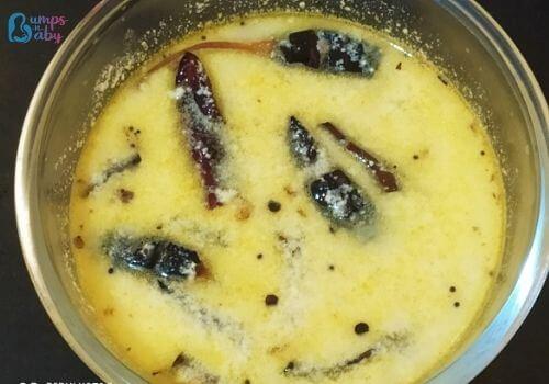 Buttermilk rasam or mor kachiyathu recipe