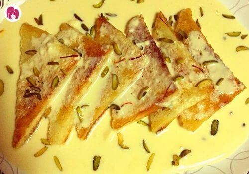 Shahi Thukda Diwali Sweets Recipes For Kids