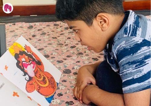 Indian kid's literature